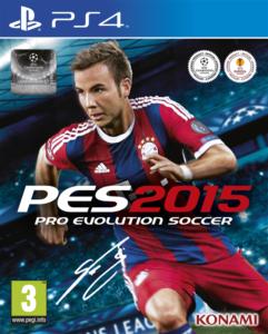 PES 2015 Copertina PS4