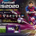PES 2020 squadre Demo - Manchester United