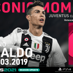 PES 2021 myClub Iconic Moment Ronaldo Juventus