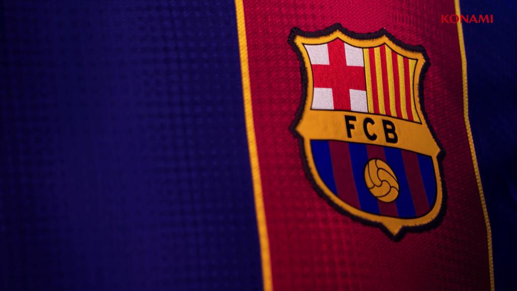 PES 2022 Barcellona divisa